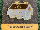 Fresh Crates Daily Pin + Patch Bundle photo