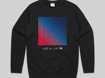 Low Key Source x House Shoes x Street Corner Music Black sweatshirt main photo