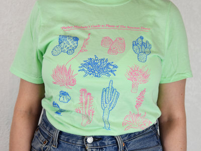 """Sonoran Plants"" Mint Green T-Shirt main photo"