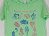 """Sonoran Plants"" Mint Green T-Shirt photo"