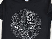"""Banana Vision"" Black T-Shirt (ONLY SMALL LEFT) photo"