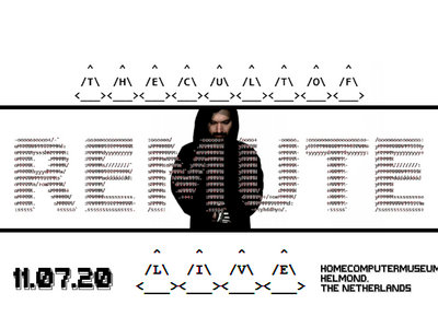 The Cult Of Remute CONCERT TICKET (July 11th 2020, HomeComputerMuseum, Helmond, Netherlands) main photo