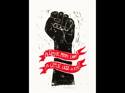 *NEW* 'A Little More Love' Lino Print main photo