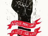 *NEW* 'A Little More Love' Lino Print photo