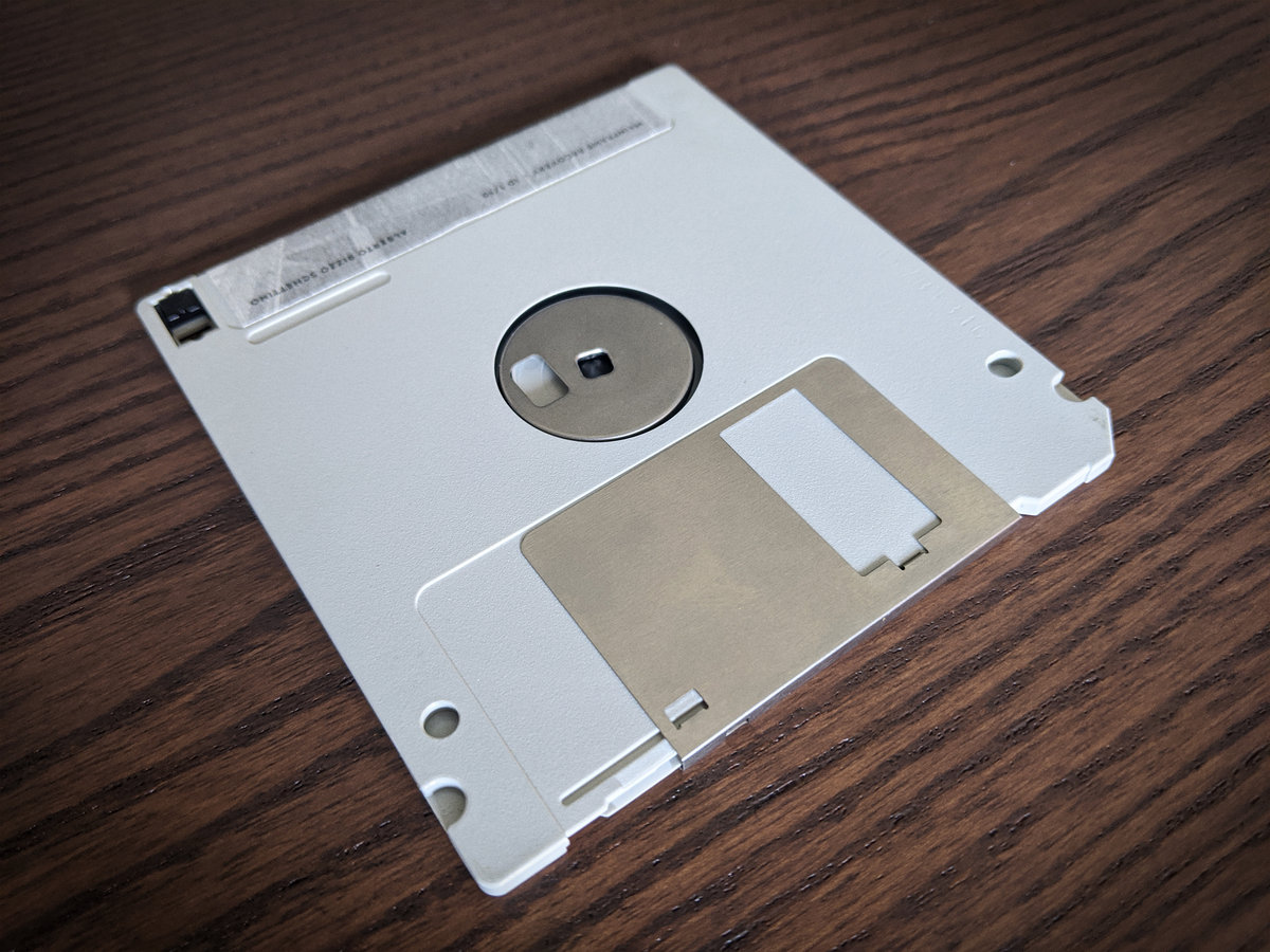 Future in the Past - Limited Run Floppy Disk Edition