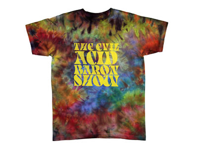 AJP x MG: Evil Acid Baron Show Tribute Ice Dyed T Shirt (MG edition of 15) main photo
