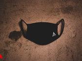 Black Mask with Bleuaudio Logo White photo