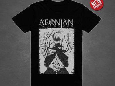 Under The Moon T-shirt: Black main photo