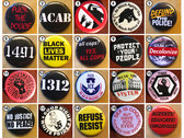 Ten ACAB Buttons photo