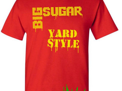 Yardstyle mens red t-shirt main photo