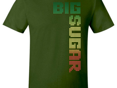 Tricolor Logo UNISEX Green T-shirt main photo
