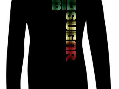 Tricolor Logo ladies black long-sleeve main photo