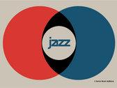 JAZZ logo designed limited ed. T-SHIRT photo