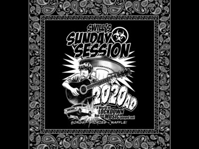 Swill's Sunday Session  -  100% Cotton Bandana / Facemask main photo