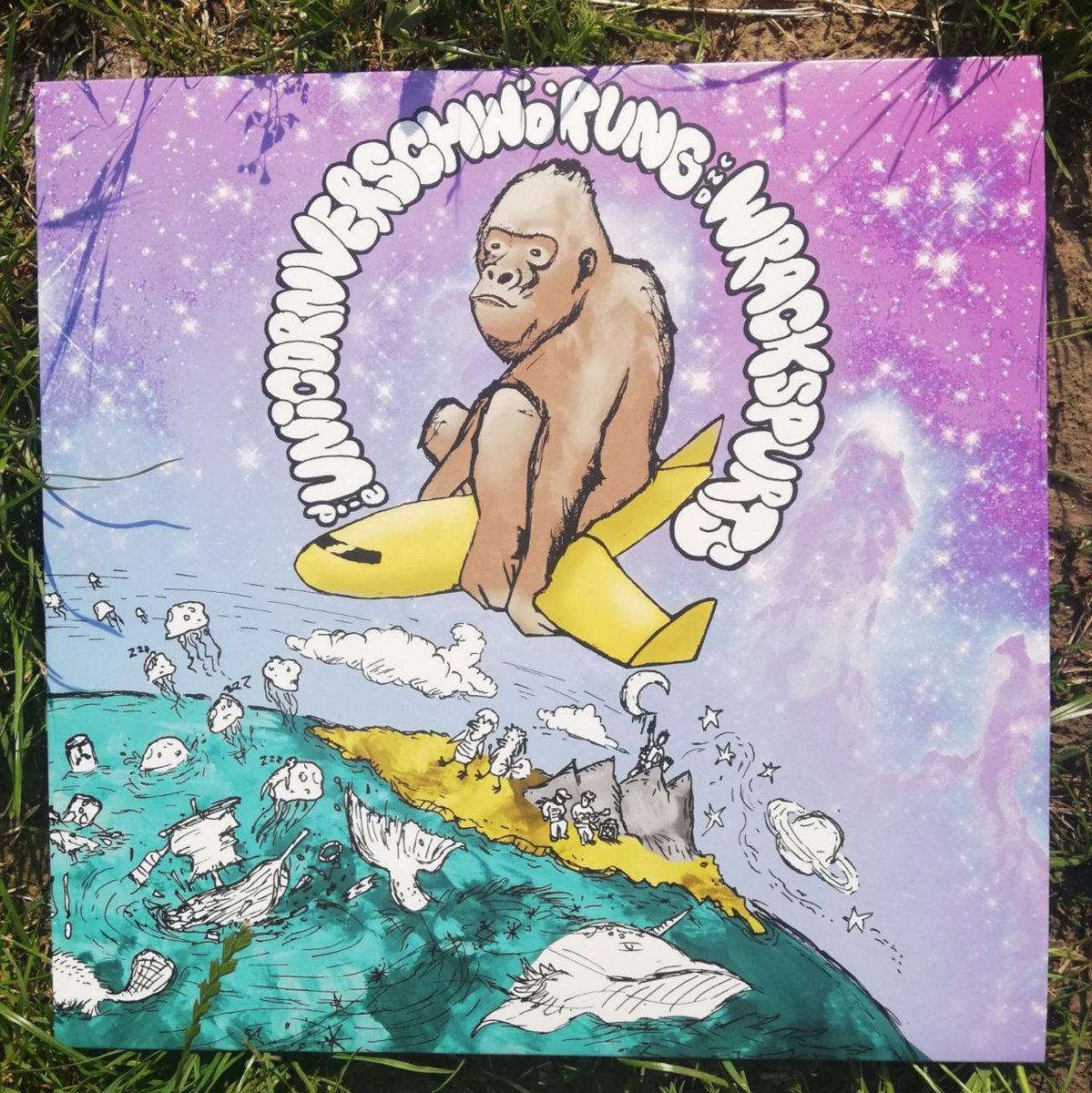 wrackspurts die unicorn verschwörung banana split platte