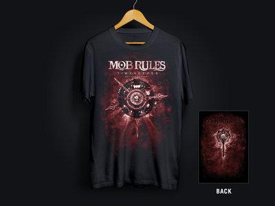 """MOB RULES   Shirt """"T I M E K E E P E R"""" Red Edition main photo"""