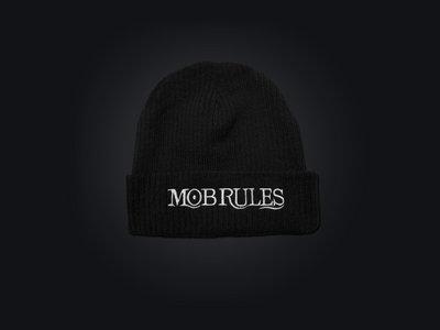 MOB RULES - Beanie Logo / Black / Unisex main photo