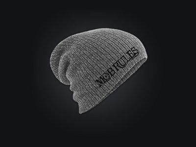 MOB RULES - Long-Beanie / Logo / Grey / Unisex main photo