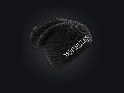 MOB RULES - Long-Beanie / Logo / Black / Unisex main photo