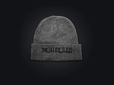 MOB RULES - Beanie Logo / Grey / Unisex main photo