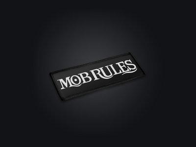 Mob Rules | Patch - Logo | 13 x 5 cm main photo