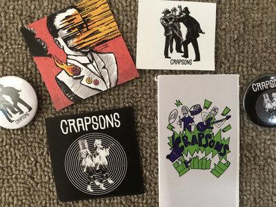 Crapsons Sticker and Badge Bundle main photo