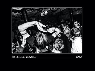 DITZ SAVE OUR VENUES TEE main photo