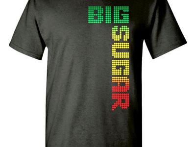 Tricolor Logo mens gray t-shirt main photo