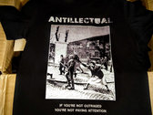 IF YOU'RE NOT OUTRAGED shirt, last one, size *tight fit* L photo