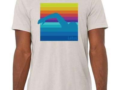 Free Swim Shirt (Dust/Heather Blue/Black) main photo