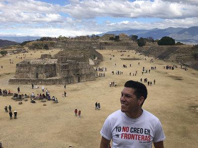 No Frontera  White T Shirt main photo