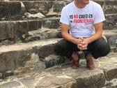 No Frontera  White T Shirt photo