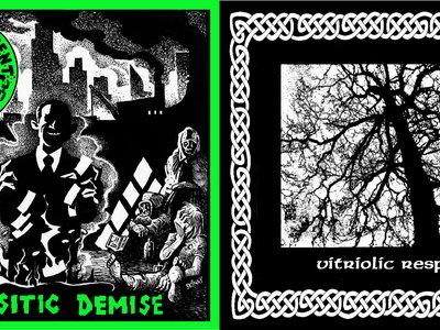 Chain Of Dissent / Vitriolic Response Split CD main photo