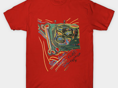 VoOdOo Vision (Red) Limited Authentic Premium T-shirt main photo