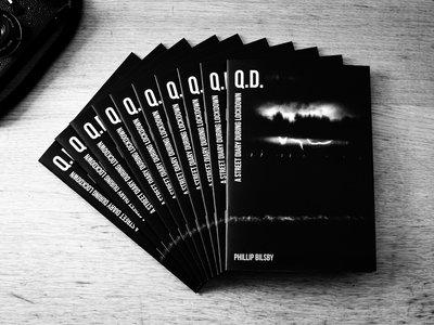 'Q.D. - A street diary during lockdown' photozine main photo
