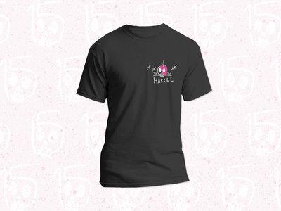 Hassle Records 15th Anniversary Logo T-Shirt main photo