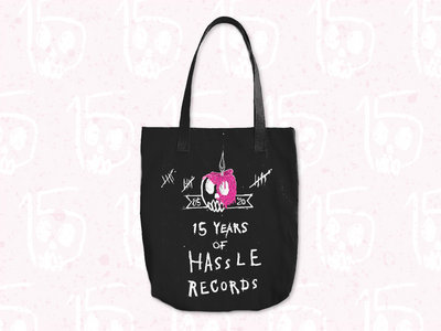 Hassle Records 15th Anniversary Logo Tote Bag main photo