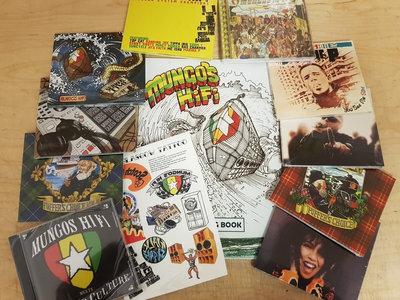 Scotch Bonnet CD box set (10 CDs + colouring book) main photo