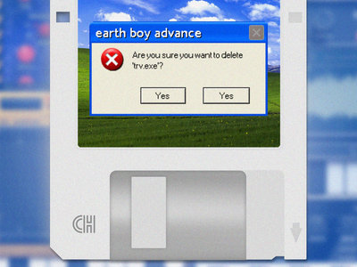 "Earth Boy Advance - trv.exe 3.5"" FLOPPY DISK main photo"