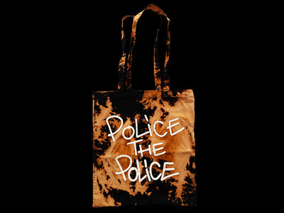 #BLM / POLICE THE POLICE Tote Bag (acid washed) main photo