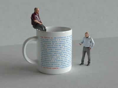The Truth Is A Liquid Lunch Gin/Tea mug main photo