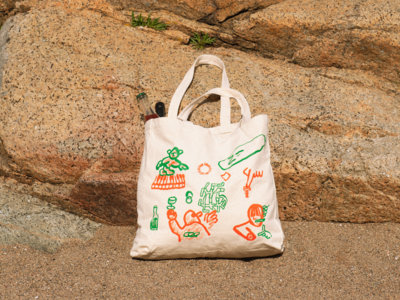 Huge Organic Heavy Duty Tote Bag main photo