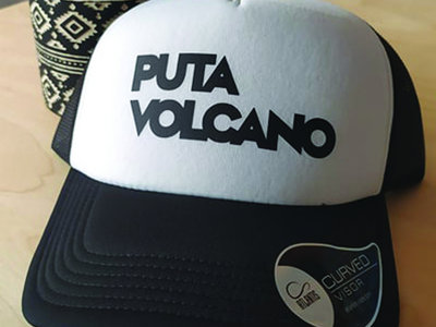 Puta Volcano Logo Trucker Cap main photo