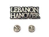 New ITEM !!!  Lebanon Hanover Metal Pin - Lebanon Hanover photo