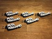 Puta Volcano Logo 3D Print Keychain photo