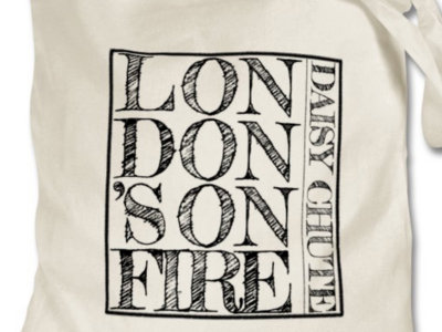 London's on Fire Tote Bag main photo