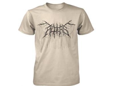 Algiers Black Metal Logo Sand T-Shirt main photo