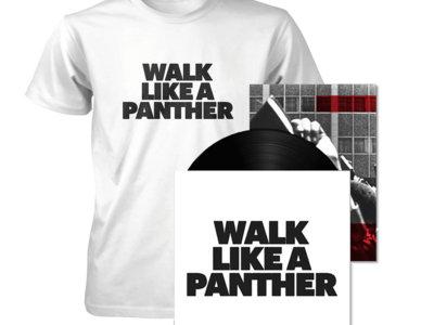 """Walk Like A Panther 7"""" Bundle w/ Zine #1 & T-Shirt main photo"""