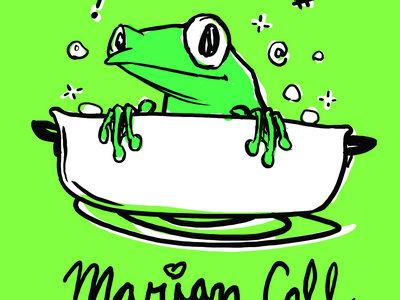 Hot Frog Shirt - adult contoured cut main photo