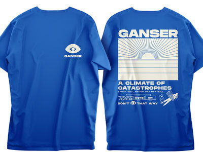 """Climate"" Blue T-Shirt main photo"
